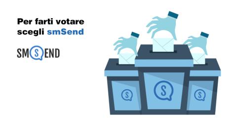 Come comunicare con gli SMS durante le Elezioni Politiche 2018