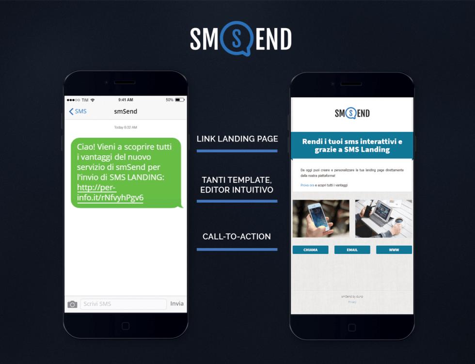 Crea le tue Landing Page con smSend