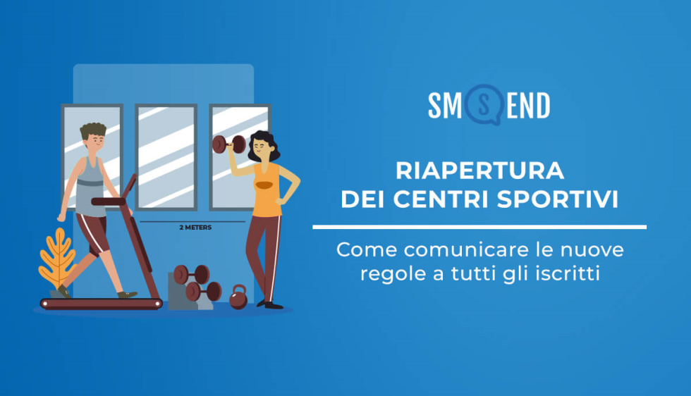 Riapertura dei Centri Sportivi: come comunicare le nuove regole a tutti gli iscritti