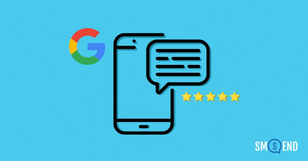 Come gli sms possono far aumentare le recensioni su Google