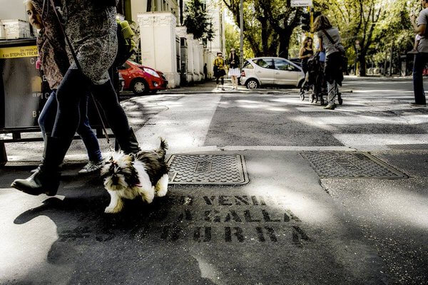 Suburra, il guerrilla marketing che invade Roma