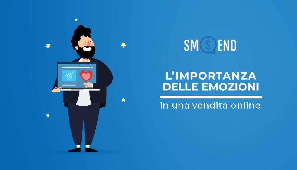 Marketing sensoriale: l'importanza delle emozioni durante il processo di vendita online.