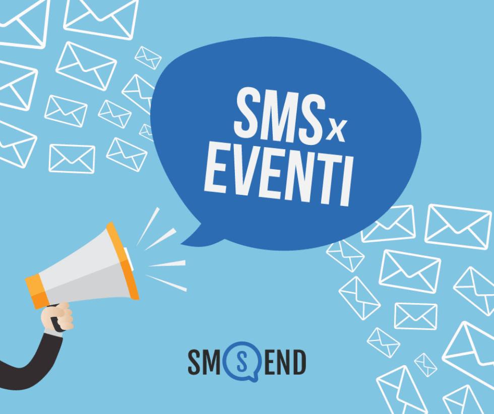 L'Sms è lo strumento più efficace per promuovere i tuoi Eventi