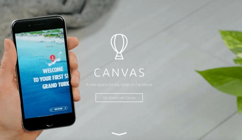 Facebook Immersive Canvas: la pubblicità cambia formato!